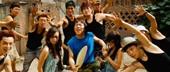学生安盟参加《高兴》拍摄